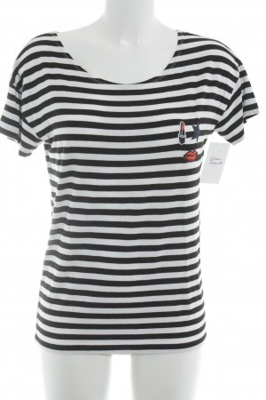 kate storm T-Shirt Streifenmuster Casual-Look