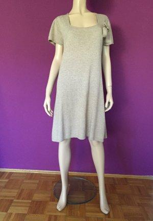 Katestorm Kleid Gr. XL Kaschmirkleid Kaschmir Braun braunes Shirtkleid kurz