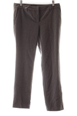 Katherine Barclay Hüfthose grau-weiß Streifenmuster Business-Look