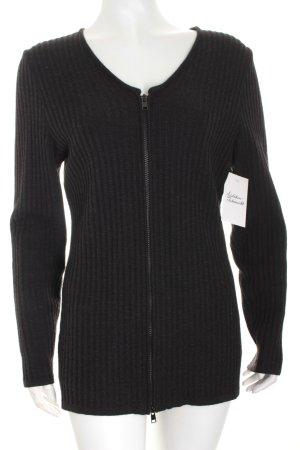 Kathleen Madden Strickjacke schwarz minimalistischer Stil