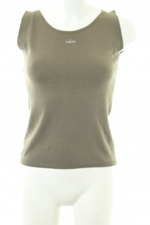 Kathleen Madden Knitted Top khaki casual look