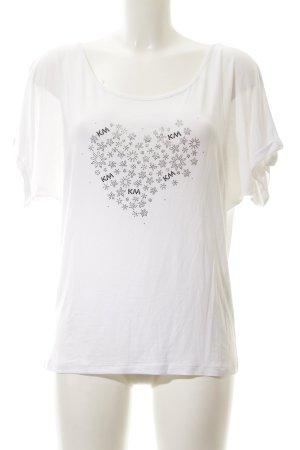 Kathleen Madden T-Shirt Motivdruck Casual-Look