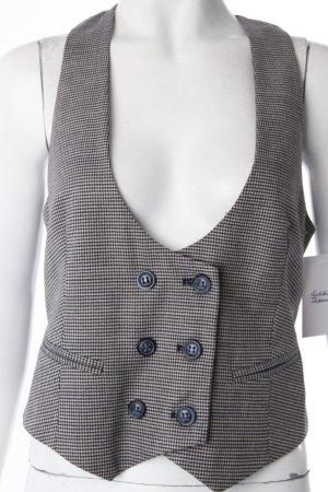 Katia G. suit vest checkered