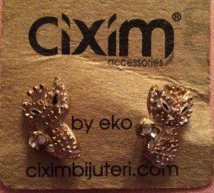 Katzen ohrstecker Ohrringe neu