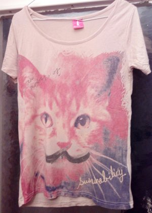 Katzen T-shirt Earth Music&Ecology