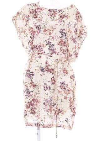 Kauf Dich Glücklich Blusenkleid Blumenmuster Casual-Look