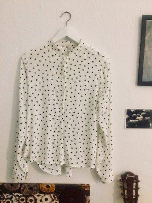 Kauf Dich Glücklich gepunktete Bluse