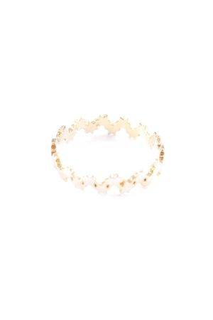 Kauf Dich Glücklich Goldring goldfarben Sternenmuster Casual-Look