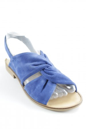 Kauf Dich Glücklich Strapped High-Heeled Sandals blue-light brown