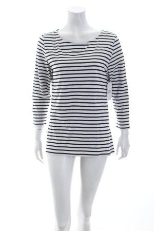 Kauf Dich Glücklich Ringelshirt schwarz-weiß Ringelmuster Marine-Look