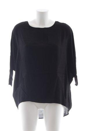 Kauf Dich Glücklich Shirttunika schwarz schlichter Stil