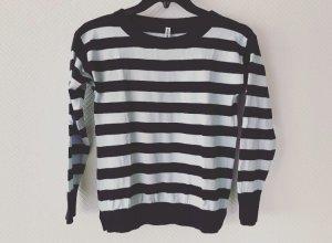 Kauf dich glücklich - Streifen Pullover Gr. XS