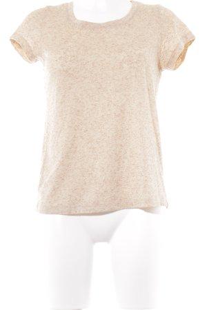 Kauf Dich Glücklich T-Shirt nude meliert Casual-Look