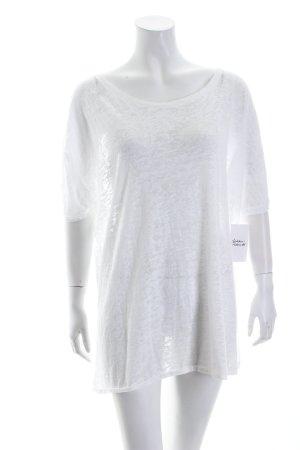 Kauf Dich Glücklich T-Shirt weiß Boyfriend-Look