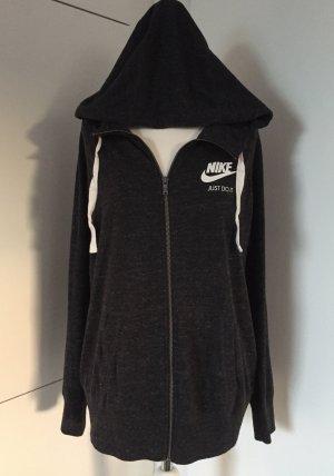 Kaum getragen, aus 2016: Weiche, leichte Kapuzen-Sweatjacke von Nike / Gr. XL