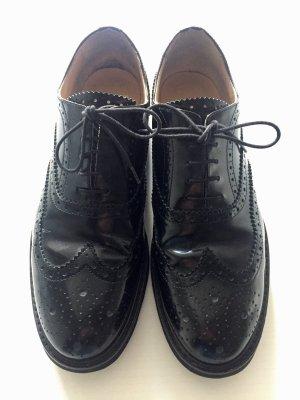 Lloyd Zapatos estilo Oxford negro Cuero