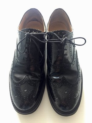 Lloyd Scarpa Oxford nero Pelle