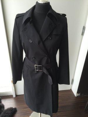 Kaum getragen: hochwertiger klassischer Trenchcoat mit Elastane