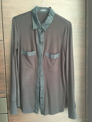 Kaum getragen: Poloshirt, Blusenshirt STRENESSE mit Seide