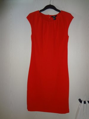 H&M Sheath Dress red