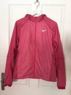 Kaum getragen Windstopper von Nike in Pink in der Größe M