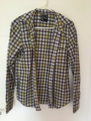 American Eagle Outfitters Shirt Blouse multicolored cotton