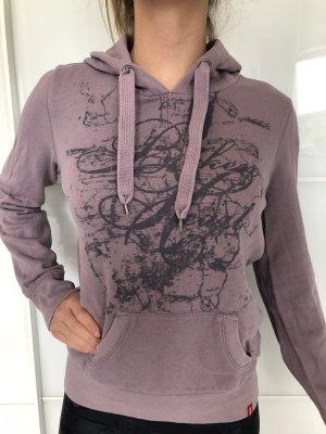 edc Jersey con capucha malva-violeta grisáceo