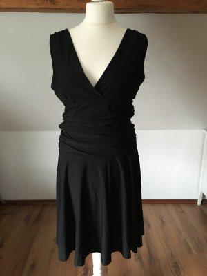 Kavi Kleid Abendkleid Abschlusskleid 42 L 44 Schwarz Trägerkleid