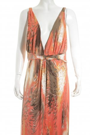 Kavi Stretch jurk abstract patroon Beach-look