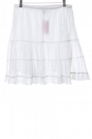 Kavi Broomstick Skirt white casual look