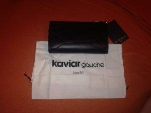 Kaviar Gauche Borsa clutch nero Finta pelle