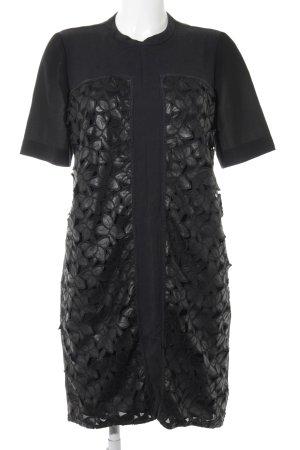 Kaviar Gauche Etuikleid schwarz extravaganter Stil