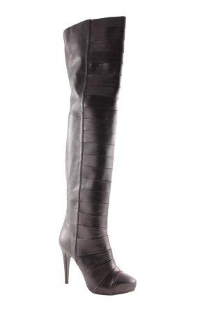 Kaviar Gauche for Görtz Overknees black extravagant style
