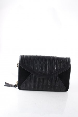 Kaviar Gauche for Zalando Clutch schwarz Materialmix-Look