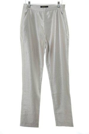 Kaviar Gauche High Waist Trousers silver-colored elegant