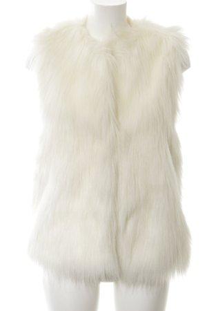 Kaviar Gauche Fake Fur Vest white elegant
