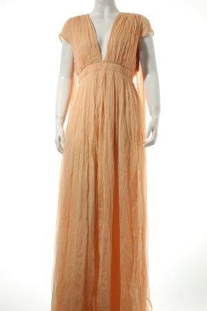 Kaviar Gauche Maxikleid apricot Eleganz-Look