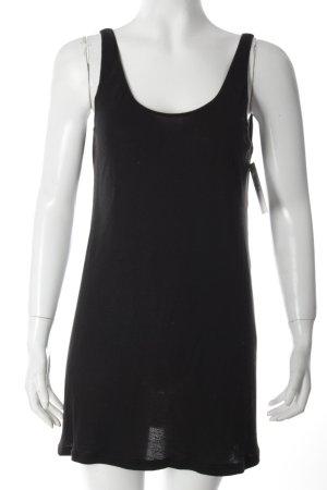Kaviar Gauche Trägertop schwarz schlichter Stil