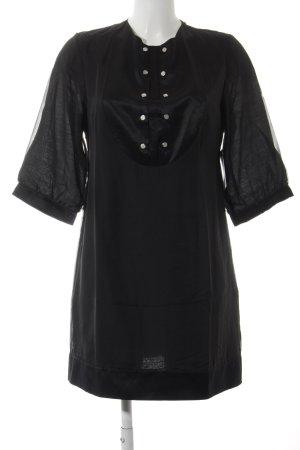 Kaviar Gauche Tunikakleid schwarz-silberfarben Elegant