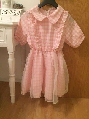 Babydoll Dress white-pink