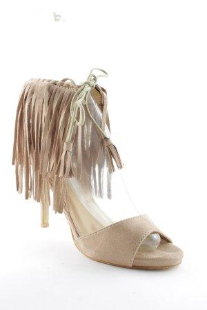 Kayla High Heels beige extravaganter Stil