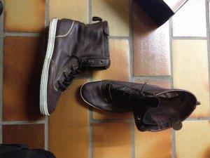 Keds Ledersneaker Sneaker Stiefeletten Braun 38 OVP Chucks Boots
