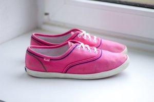 Keds pink bunt blau grün lila zum Schnüren Sneaker Halbschuhe