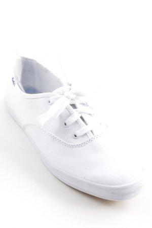 Keds Schnürschuhe weiß sportlicher Stil
