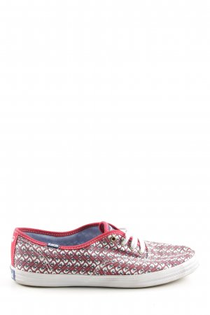 Keds Schnürsneaker grafisches Muster Casual-Look