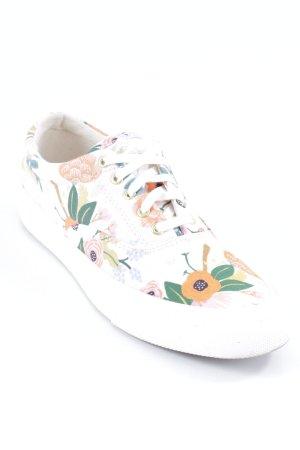 Keds Sneaker stringata motivo floreale stile casual