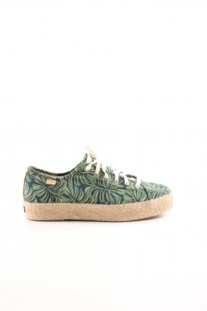 Keds Schnürsneaker florales Muster Casual-Look