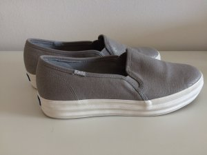 Keds Schuhe 41 Slipon Slipper grau 1mal getragen Plateau
