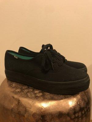 Keds - Schwarze hohe Sneaker