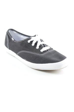 Keds Skaterschuhe schwarz-weiß Skater-Look